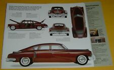 1948 Tucker Torpedo Air Cool 334 ci 6 Cylinder Helicopter Engine Info/Spec/photo