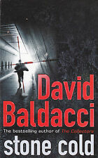 DAVID BALDACCI - stone cold BOOK