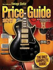 2012 Official Vintage Guitar Magazine Price Guide