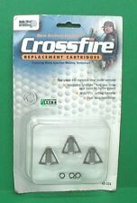 NAP Crossfire Broadhead Replacement Blade Cartridges - New Pack