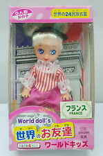 Mini World Doll FRANCE Style, 1pc   , h#5