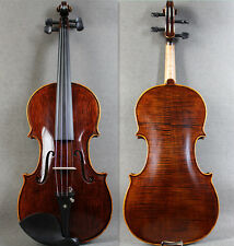 Special Edition - 4/4 Brown Hand-Made Antique Violin+Bow +Rosin +Case  Limited