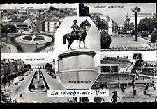 LA ROCHE-sur-YON (85) COMMERCES & PISCINE animée en 1964