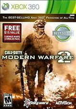 CALL OF DUTY: MODERN WARFARE 2 WITH MAPS   (XBOX 360, 2014)
