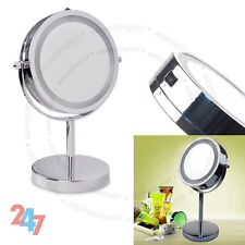 Bathroom Make Up Dressing M451 Vanity Mirror Illuminated Round Magnifying LED