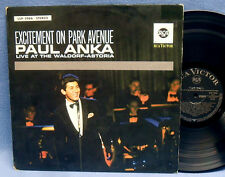 LP PAUL ANKA - EXCITEMENT ON PARK AVENUE / 1st PRESS GERMAN RCA VICTOR LSP 2966