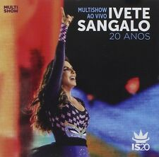 Multishow Ao Vivo 20 Anos - Ivete Sangalo CD Sealed New 2014