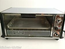 Vintage General Electric Toaster Toast R Oven Countertop Broiler Broil Bake GE