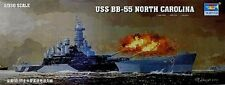 BRAND NEW Trumpeter 05303 1/350 U.S.S. BB-55 North Carolina Model Kit FAST SHIP