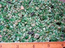 Emerald crystal Colombian tumble polished smaller 1/8 pound lots 200 plus pieces