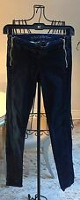 Guess by Marciano Jeans Sz 25 Slim Skinny 2 Front Zippers