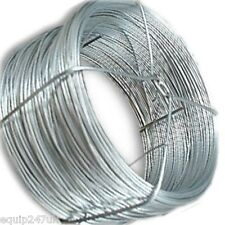 125m Zinc Plated Garden Wire corrosion resistance for Tying vines to pikes poles