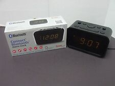 Bluetooth Dual Alarm Clock Speakerphone - USB Charger Geneva Clock Co.