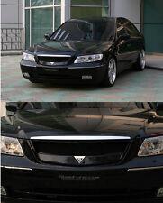 NEW Front Hood Radiator Grill Ebony Black Roadruns For 06 10 Hyundai Azera TG