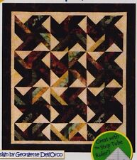 "Tradewinds - pieced quilt PATTERN for 2.5"" strips - Cozy Quilts - 5 sizes"