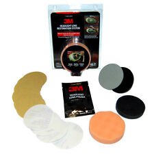 3M Headlight Lens Restoration/Polish Kit. You just need a drill