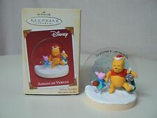 Hallmark Ornament 2005 AMIGOS DE VERDAD Spanish Winnie the Pooh Disney Gifts