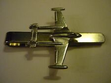 De Havilland Venom c83 Aeroplane Fine English Modern Pewter on a Tie Clip(slide)