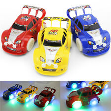 Funny Flashing Music Racing Car Electric Automatic Toy Boy Kid Birthday Gift SP