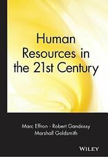 Marc Effron - Human Resources In The 21st Ce (2003) - Used - Trade Cloth (H