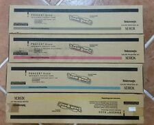 KIT included 4 Toner XEROX Phaser 6200 Genuine  Cyan,Yellow,Black, Magenta