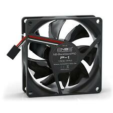 Noiseblocker NB-BlackSilent Pro P-1 80mm High Quality Axial Fan, 1500rpm, 15 dBA