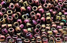 200 Iris Multi Rainbow Matsuno # 6 Glass Seed Beads