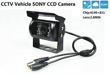CCTV Sony CCD 700TVL Chip 4140+811 lens 2.8mm Car Vehicle Waterproof Camera
