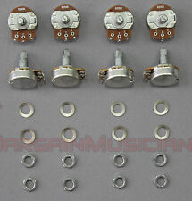 Lot of 8 B250K Volume / Tone Pots for Guitar / Bass, 24mm, Linear Potentiometer