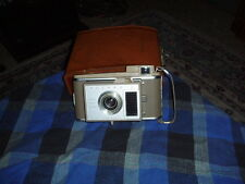 Vintage POLAROID J33 LAND CAMERA Collector W/ Case VG !