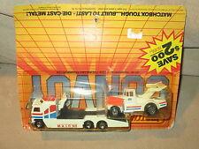 Matchbox Convoy CY10 1983 Kenworth COE Racing Car Transporter - NIB - ERROR CARD