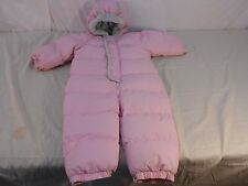 18 Month Pink The Children's Place Infant/ Toddler Snow Suit 6360