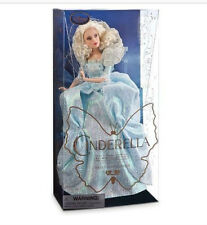 "DISNEY STORE EXCLUSIVE CINDERELLA FILM COLLECTION FAIRY GODMOTHER 11"" DOLL NIB"