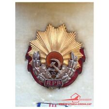 ROMANIA ORDER OF LABOUR 1st CLASS (1947-1965) RPR RED ENAMEL W/ORIGINAL BOX RARE