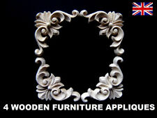 4 CORNER FURNITURE APPLIQUES SHABBY CHIC WOODEN DECORATIVE FURNITURE  MOULDING