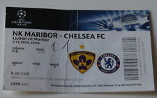 Ticket for collectors CL NK Maribor - Chelsea FC 2014 Slovenia England