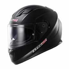 XLARGE XL LS2 Stream Solid Matte Black Full Face Motorcycle Helmet w/Sun Shield