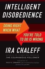 Intelligent Disobedience: Doing Right When What You're Told to Do Is Wrong, Chal