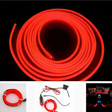 2M Red EL Wire Car Cold Neon lamp Atmosphere Lights For Nissan Patrol GU