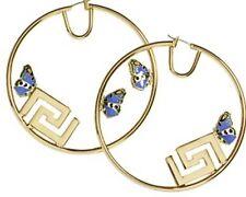 NUOVO Versace for H&M orecchini con farfalle e greca Motif Ltd CRUISE EDIZIONE