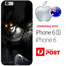 iPhone 6 6S Silicone Case Cover Death Note Light Yagami Ryuk Shinigami Misa AUS