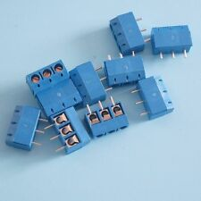 10pcs KF301-3P Screw Terminal Block Connector 5.08mm Pitch 300V/16A(14-22AWG) TX