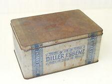alte Blechdose, Schachtel, Kaffee Zusatz Diller Essenz
