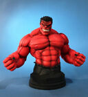 "GENTLE GIANT MARVEL Collection_RED HULK 7 "" Mini Bust_Diamond Exclusive_411of600"