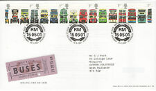 "GB FDC 2001 ""CLASSIC BRITISH BUSES"""