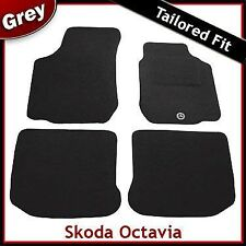 Skoda Octavia Tailored Fitted Carpet Car Mats GREY (1998...2001 2002 2003 2004)
