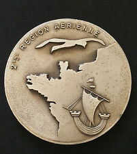 A0284 - Médaille 2ème Région Aérienne attribuée 1968-1980 fab. Drago