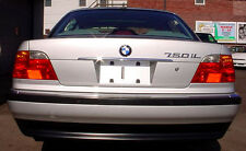 CHROME FINISH BOOT LID HANDLE COVER FOR BMW E38 7 SERIES SALOON 2002-2005 v2