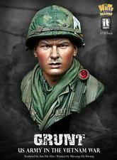 Nuts Planet, 'Grunt' Vietnam, 1/10th scale unpainted resin bust kit NIB