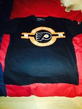NHL Philadelphia Flyers T-Shirt Stanley Cup 2013-2014 Coors Light Large L Black